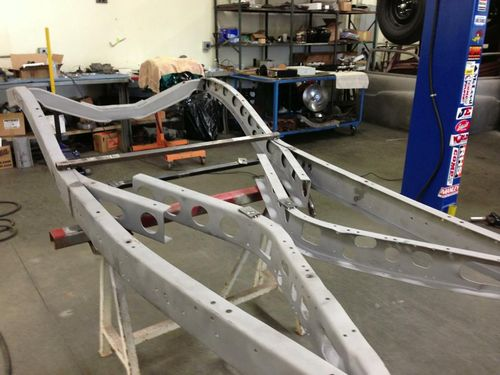 1935 Ford Frame Fullerton Fabrication