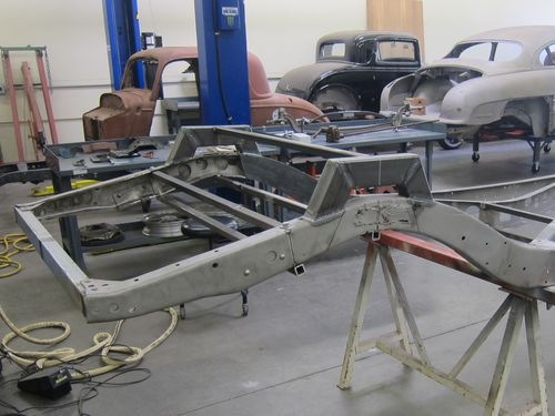 Fullerton Fabrication 1935 Ford Frame 01