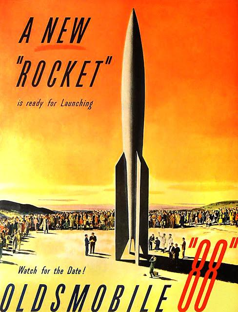 Oldsmobile Rocket Advertisement