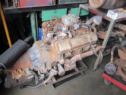 Barn Find, Oldsmobile 371ci Rocket Engine