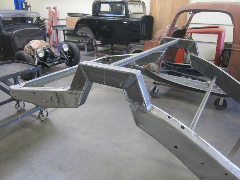 Fullerton Fabrication 35 Ford Frame 04