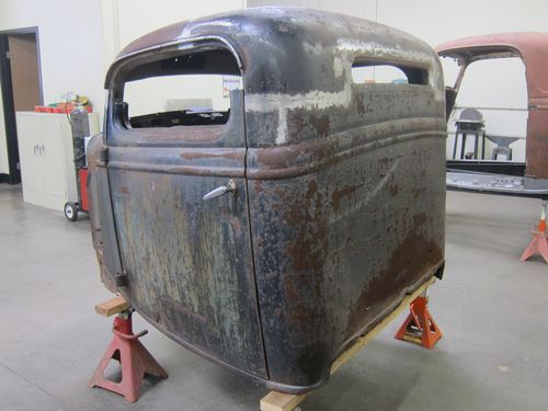 1935 Ford Pickup Roof Chop