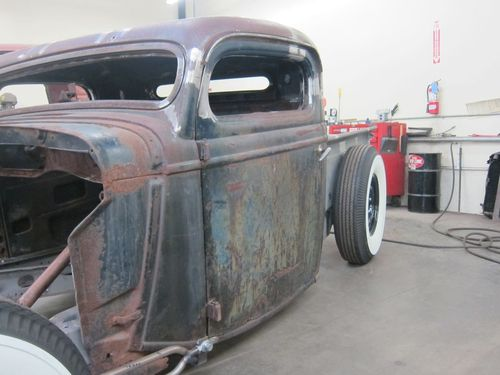 1935 Ford Pickup Door Chop