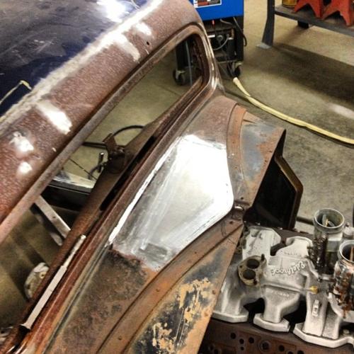 1935 Ford Pickup Oldsmobile Rocket 303