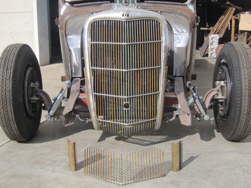 1935 Ford Pickup Hot Rod Fullerton Fabrication Rudy Rodriguez 1935 grille