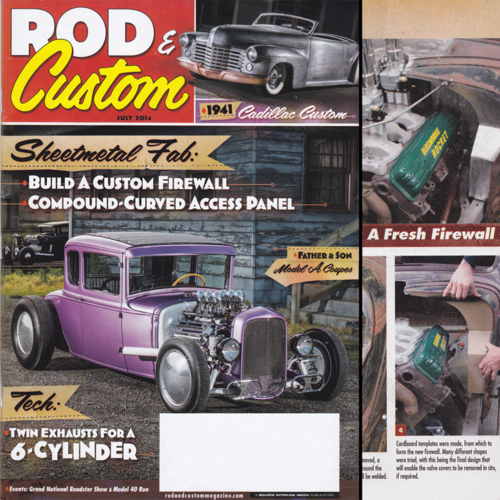 Rod & Custom July 2014