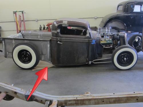 1935 ford pickup, hot rod, rat rod