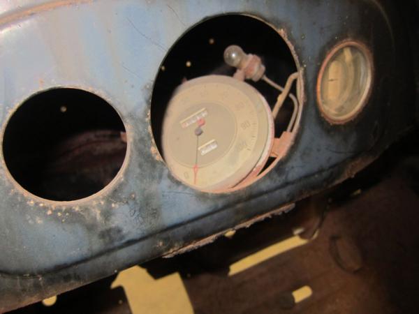1935 Ford Dashboard & Instrument Panel - Hunter Speed ...