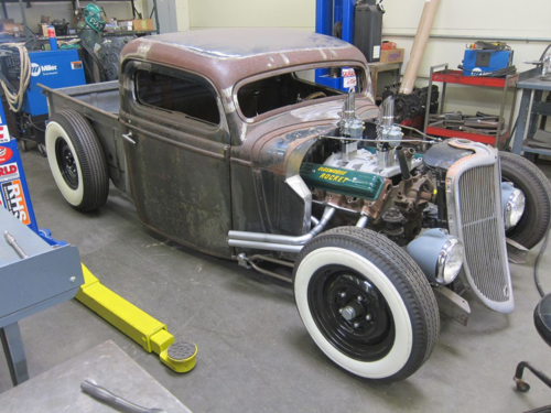 1935 Ford Pickup, Hot Rod, Rat Rod, hunter speed and kustoms