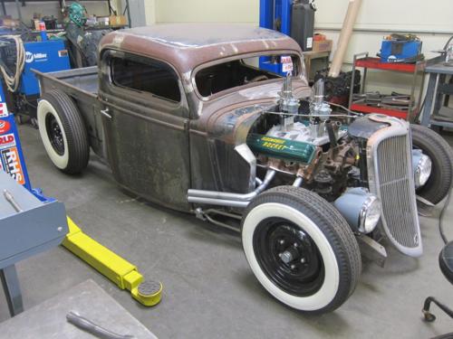 1935 Ford Pickup, Hot Rod, Rat Rod, hunter speed and kustoms