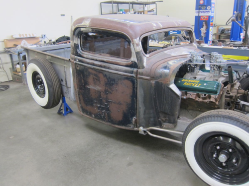 1935 Ford Pickup Hot Rod Rat Rod